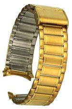 Edelstahluhrarmband 19 mm Stegbreite Clipverschluss Uhrband Ersatzband Uhrenband