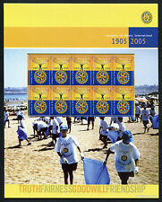 2005 Rotary International Post Office Pack Australia Mint Stamps