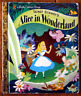 Walt Disney's ALICE IN WONDERLAND Little Golden Book 2010 Lewis Carroll