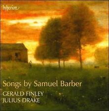 Barber: Songs by Samuel Barber, Gerald Finley, Julius Drake, Aronowitz Ensemble