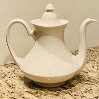 Vintage White Porcelain Teapot