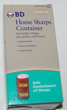 BD Home Sharps Container for Safe Disposal Dispose Over The Counter NEW
