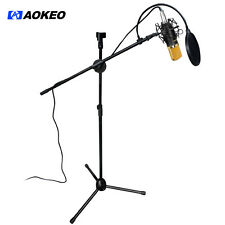 Aokeo AK-70 Studio Broadcasting Recording Condenser Mic Microphone Kit 3.5mm