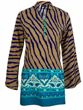 Collared Long Sleeve Tunics, Kaftans for Women