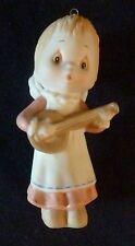 1984 Hallmark Betsey Clark Angel Hand-Painted Fine Porcelain Christmas Ornament