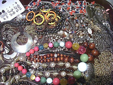 ESTATE JEWELRY LOT 10~Vintage to modern~mostly costume necklaces & bracelets