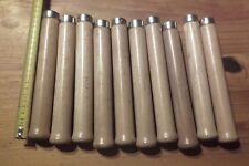 PROMO Lot 10 anciennes poignée en bois pour lime gouge serpe et autres outils