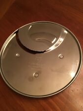 Cuisinart Dlc 044Tx 4mm Slicer Disc for Dlc 7 Food Processor with Weight