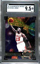 1997-98 Michael Jordan Metal Universe #23 SGC 9.5