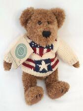 "Boyds Bears Retired Bearwear Plush ""Stevenson Q. Bearitage"" Style # 91736"
