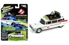 1:64 Scale Johnny Lightning JLSS004 1959 Cadillac ECTO 1A - Ghostbusters - BNIP