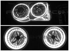Chrysler 300C White LED HALO HEADLIGHT & FOG KIT (2005-2010)