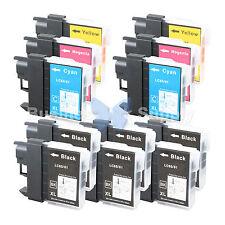 12+ PK LC61 Ink for Brother MFC-J630W MFC-J615W MFC-J415W MFC-J410W MFC-J270W