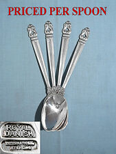 International Sterling Teaspoon(S) ~ Royal Danish ~ No Mono