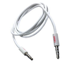 1M 3.5MM JACK TO JACK AUX AUDIO CABLE LEAD IPHONE 5S 4S 4G 3GS 3G IPAD IPOD