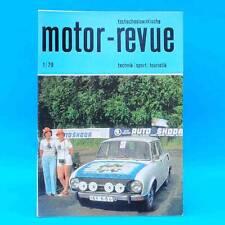 DDR Motor-Revue 1-1979  (tschechoslowakische) Skoda Jawa CZ Tatra II