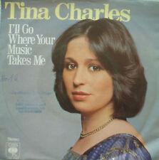 "7"" 1978! TINA CHARLES I´ll Go Where Your Music Takes Me"
