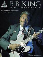 B.B. King Anthology Guitar Recorded Versions Play Blues TAB Music Book