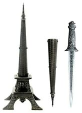 "10"" Eiffel Tower Dagger Metal Construction"