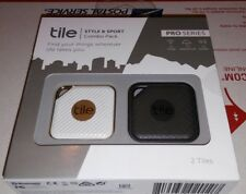 NEW Tile Pro Series Style And Sport Combo Pack Bluetooth Wireless Item Tracker