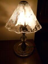 Lampada da tavolo in vetro di Murano La Murrina vintage anni 80 design lamp