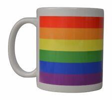 Best Coffee Mug Tea Cup Gift Gay Lesbian Rainbow LGBT Pride Love Peace