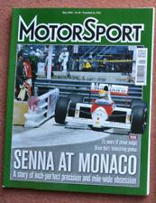 Motor Sport May 2004 Senna at Monaco, JJ Lehto, Tony Brooks, Brian Hart