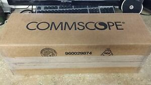 Commscope 1100A-U-PS-48 Angled Patch Panel  Cat5e DATA Patch Panel - NIB