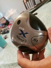 Callaway Golf X 460 DRIVER 10* Right Handed Graphite Fujikura