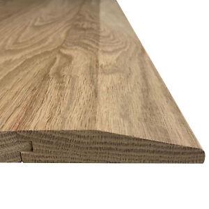 Solid Oak Floor Threshold   Ramp Reducer 20x70mm   0.9m, 2.4m, 3.0m