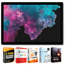 "Microsoft Pro 6 12.3"" Intel i5-8250U Surface 8GB/256GB Laptop + garantía Pack"