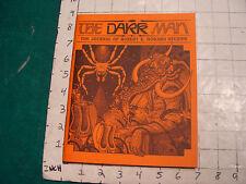 UNREAD: The DARK MAN-the journal of Robert E. Howard Studies #2, 1990: