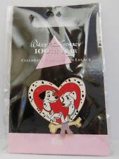 Japan Walt Disney 100th Year Pongo & Perdita Kiss 101 Dalmatians LE Pin