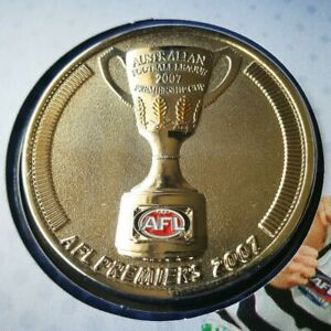 2007 AFL Premiers Geelong Cats Medallion Only
