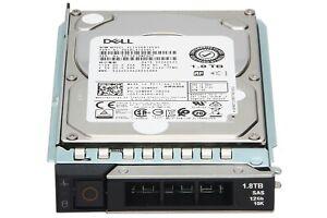"""DELL 1.8TB 10K 12G SAS 2.5"""" HDD Festplatte Powerdge R340, R740 // 00WRRF, 0WRRF"""