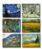 TIME4BILD VINCENT VAN GOGH Weizenfeld mit Zypressen 6x40x30cm BILD LEINWAND ART