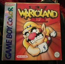 Warioland II 2 Gameboy Color Advance SP GBA Colour Rare Cartridge Boxed