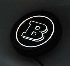 Smart 450,451,453,454 - LED Logo emblem Brabus für die Heckklappe D=60 mm