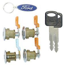 Ford Econoline Van - E150 E250 E350 - Four (4) Door Lock Set with New Keys Cargo