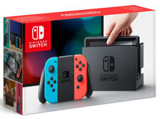 Nintendo Switch avec Joy-Con Rouge Néon / Bleu Néon Console IT IMPORT NINTENDO
