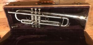 1928 CG Conn 2B Trumpet As Is
