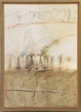 Reinhard Zado UNIKAT Gemälde auf Leinwand aus 1992 handsigniert