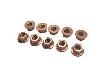 10 x Kupfermutter M10 x1,5 Kupfer Mutter Auspuff Auspuffhalter Krümmer Turbo