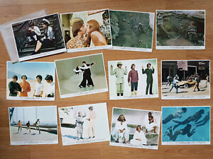 The Monkees HEAD - scarce set of 12 US 8x10 color lobby cards 1968 RAFAELSON