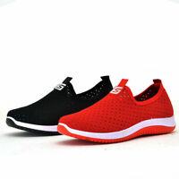 Damen Sportschuhe Laufschuhe Mesh Loafers Walking Sneaker Turnschuhe Freizeit