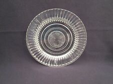 Hocking Queen Mary Crystal Saucer Excellent