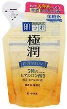 ROHTO Hada labo Gokujyun PREMIUM Hyaluronic Acid Super Moist Lotion Japan Refill