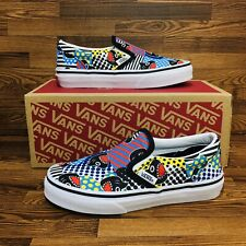 Vans Classic Slip On Shark Week (Youth Size 13) Athletic Casual Sneaker Shoe