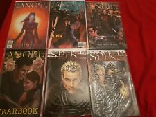 angel comics buffy spike x 6. yearbook spotlight illyria