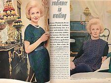 Vintage Good Housekeeping Magazine July 1961 ~ JOANNE WOODWARD PAUL NEWMAN ADS